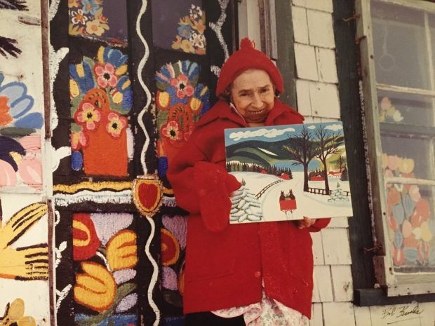 Lost Maud Lewis painting discovered at New Hamburg thrift store - 570 NEWS