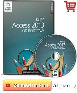 strefakursow.pl Kurs Access 2013 od podstaw