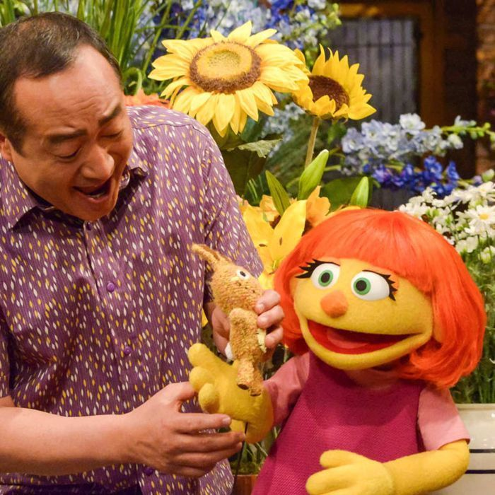 Sesame Street introduces new muppet with autism