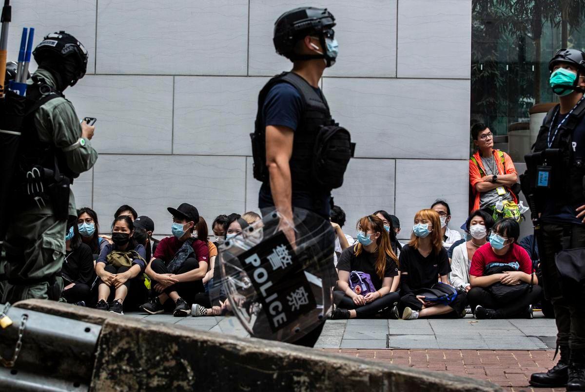 Hong Kong attivista Protesta non fermerà, andarsene non è alternativa