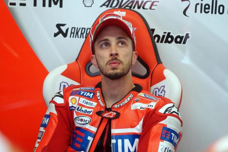MotoGP Dovizioso torna palestra dopo frattura alla clavicola