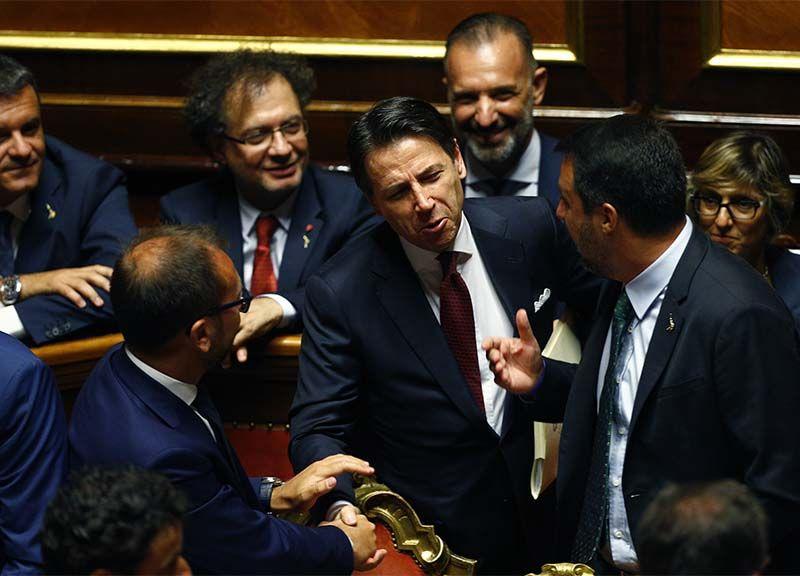 SONDAGGI Lista Conte Lega Matteo Salvini ... SONDAGGIO NUMERI