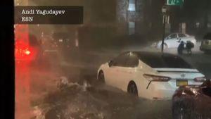 L'uragano Ida allaga metro e strade di New York, 8 morti