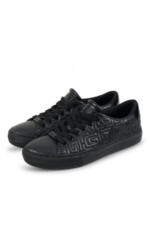 GUESS Leather FL8GΟLΕLΕ12 Μαύρο