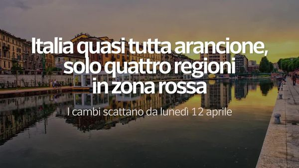 Italia quasi tutta arancione, solo quattro regioni in zona rossa - Video - Alto Adige