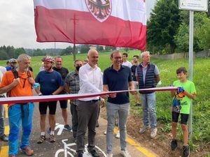In bici in sicurezza dalla Val di Non alla Mendola: inaugurato il tratto Ronzone-Waldheim