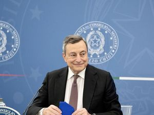 Draghi alle 19:15 interviene a G20 Cultura al Colosseo