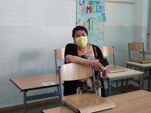 Mariarosa Lombardo:«Lascio la scuola dopo 40 anni di insegnamento»