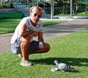 Al lido di Laives la mascotte è... un piccione
