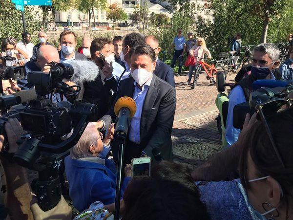 """Conte a Merano: """"Italiain Europa a testa alta,adesso il Paese è tornato a correre"""""""
