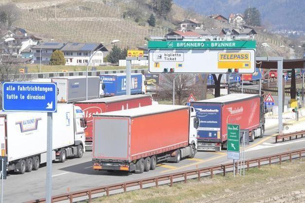 A22 giovedì 11 giugno divieto transito per tir tra Vipiteno Brennero