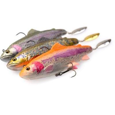 Savage Gear 4D Trout Spin Shad 14.5cm 80g MS 01-RB Trout