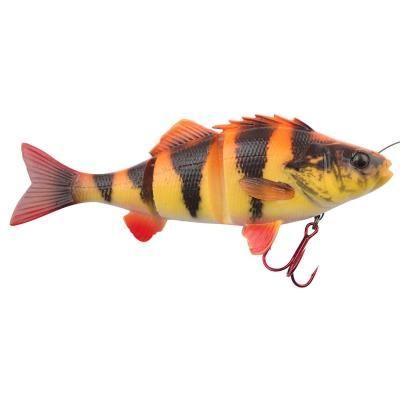 Savage Gear 4D Perch Shad 12.5cm 25g SS 03-Albino