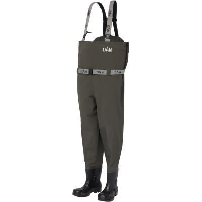 DAM Flexfit Chest Wader Cleated 43