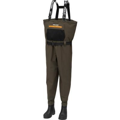 Prologic LitePro Breathable Wader w/EVA Boot Cleated 42/43 7.5/8