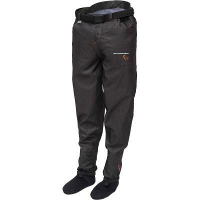Savage Gear #SAVAGE Denim Waist Waders w/Stocking Foot XL