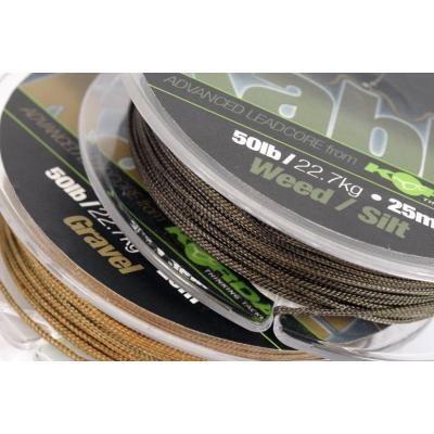 Korda Kable Leadcore - 7m Weed/ Silt