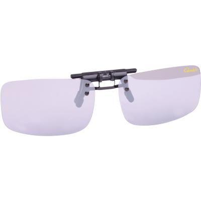 Gamakatsu G-Glasses Clip_On-G Light Gray White Mr
