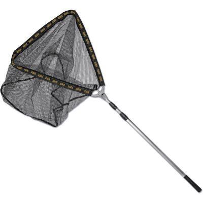 Zebco 1,60m Tele Rubber Net 50cm x 50cm x 50cm