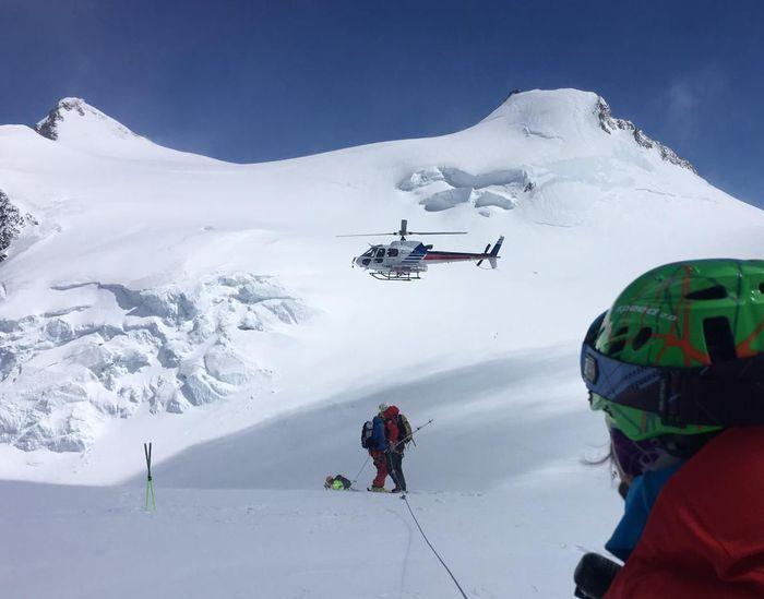 Travolto una valanga muore famoso alpinista