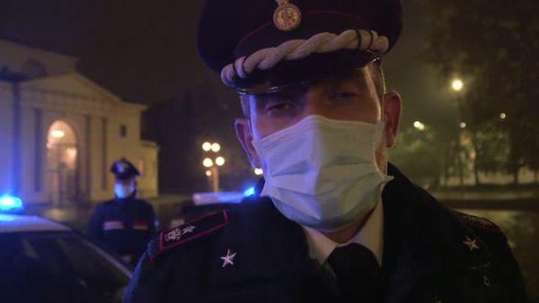 Coprifuoco a Milano, i carabinieri: Prova di responsabilita' dei cittadini - Italia