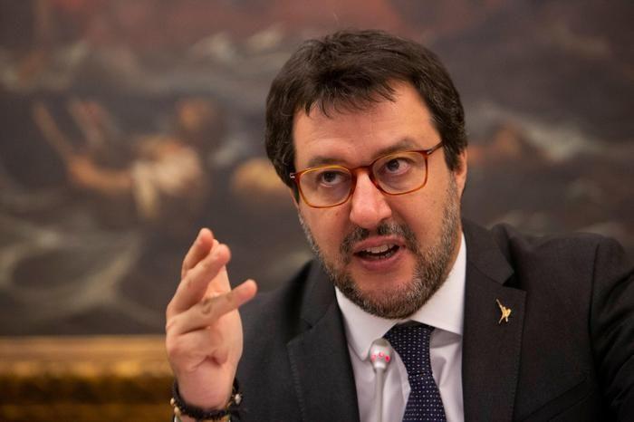 Salvini Zingaretti Berlusconi commenti della politica allo sciopero dell ANSA