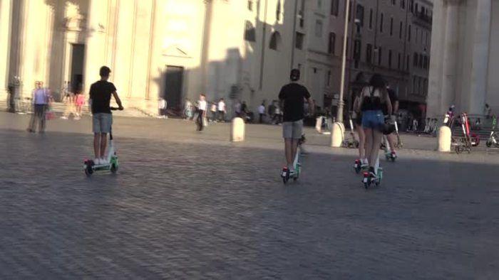 Fenomeno monopattini Roma assessore Boom oltre attese