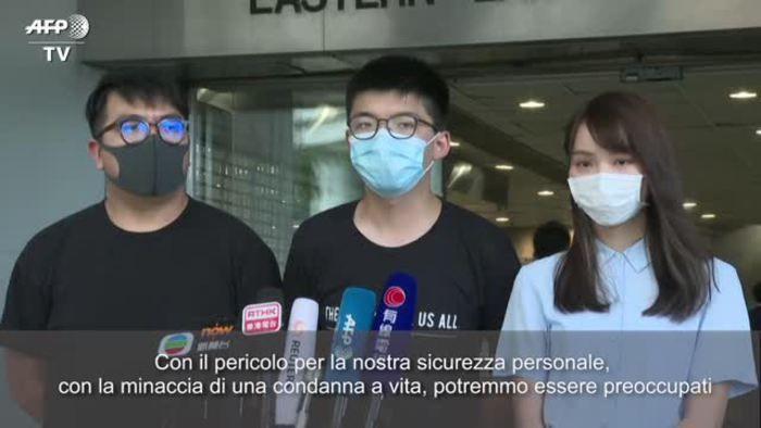 Joshua Wong ora sostenere Hong Kong