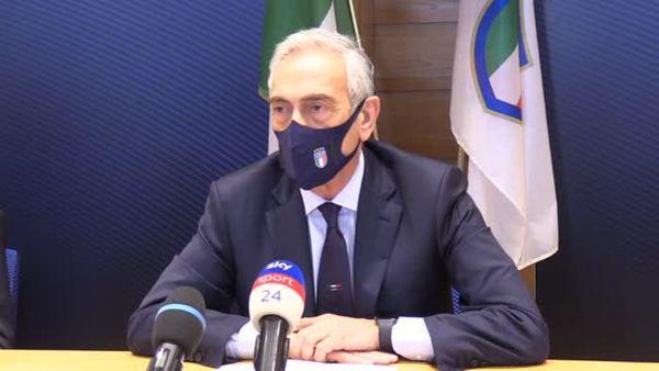 Covid, Gravina: Nessun cluster Italia, protocollo rispettato - Calcio