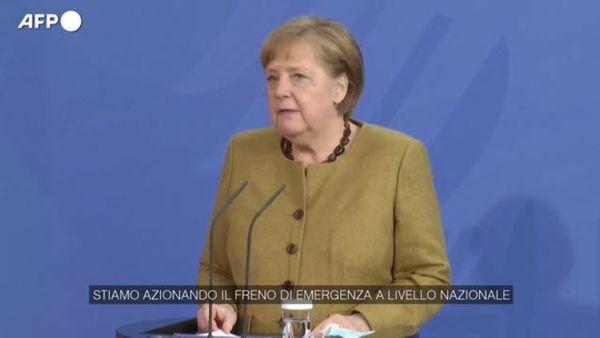 Covid, Merkel: La risposta alla pandemia deve diventare piu' vigorosa - Mondo