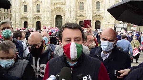 Covid, Salvini: Dati confortanti, restituire liberta' da settimana prossima - Italia