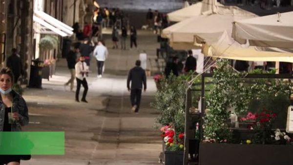 Covid, a Perugia aria di festa nella prima sera in zona bianca - Italia