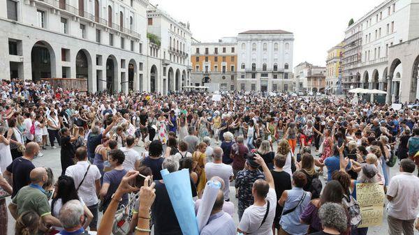'Green Pass?No, grazie', martedì IoApro torna in piazza a Roma - Cronaca