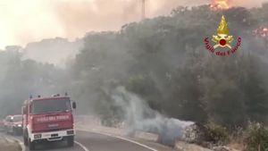 Rogo nell'Oristanese, la Sardegna continua a bruciare - Italia