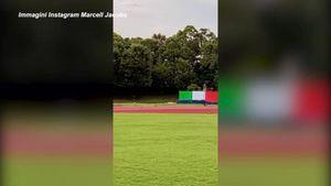 Tokyo 2020, l'allenamento di Marcell Jacobs tra scatti e maxi pesi - Sport