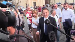 'No green pass', parlamentari Lega partecipano a manifestazione a Roma - Italia