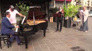 Milano, la maratona musicale partigiana di Veronesi: