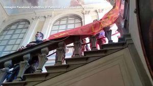 Gkn, protesta a sorpresa dei lavoratori alla Regione Toscana - Economia