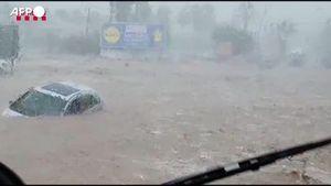 Maltempo in Spagna, devastante inondazione ad Alcanar - Mondo