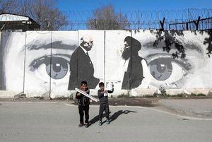 Afghanistan: i talebani hanno cancellato murale iconico a Kabul - Mondo