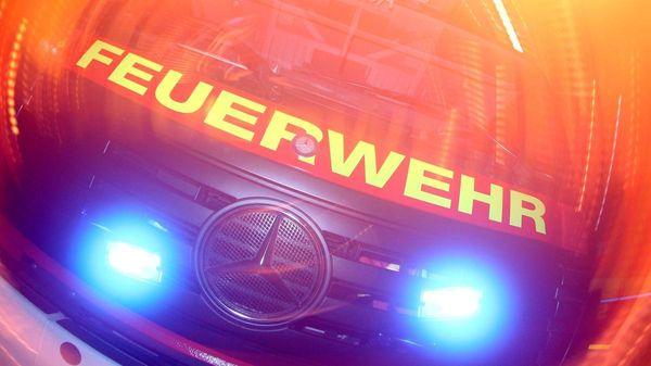 Feuerwehreinsatz nahe Bahnhof Kellmünz: Ursache für Brand noch unklar