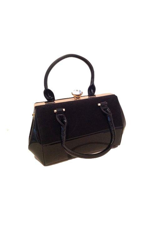 Τσάντα μαύρη χειρός