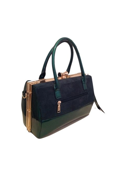 Τσάντα πράσινη κλασική