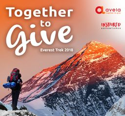 Together to Give 2018, Everest Base Camp trek for The Avela Foundation Image