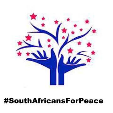 #SouthAfricansForPeace Logo