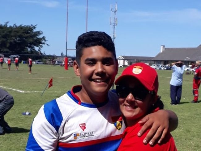 Imaad Hardenberg Rugby Cause
