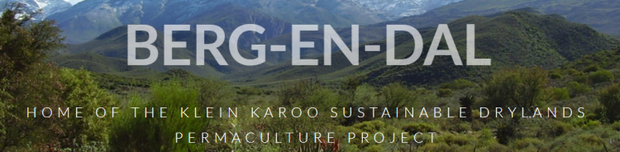 Klein Karoo Sustainable Dryland Permaculture Project Logo