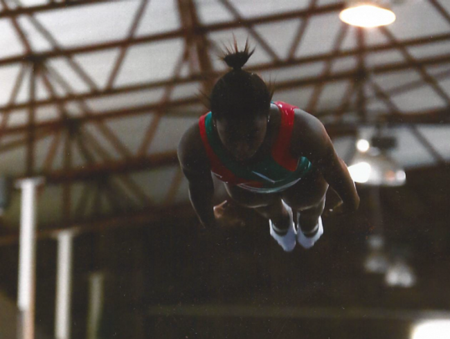 Asthi - SA Gymnast to World Championships