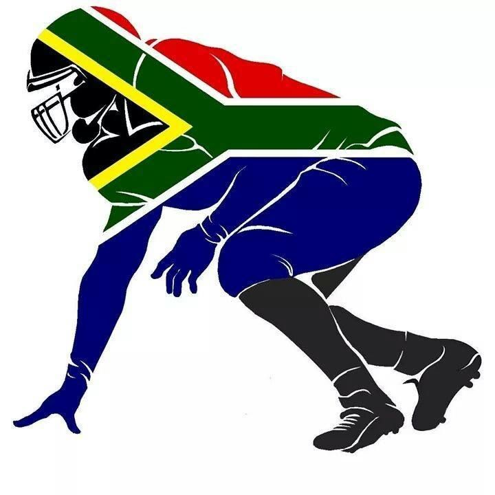 Gridiron South Africa - Association for American Football Logo