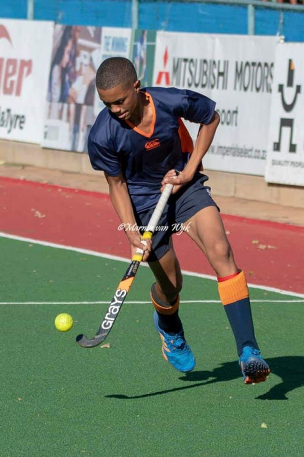 Giovanni Fourie Hockey Cause Logo